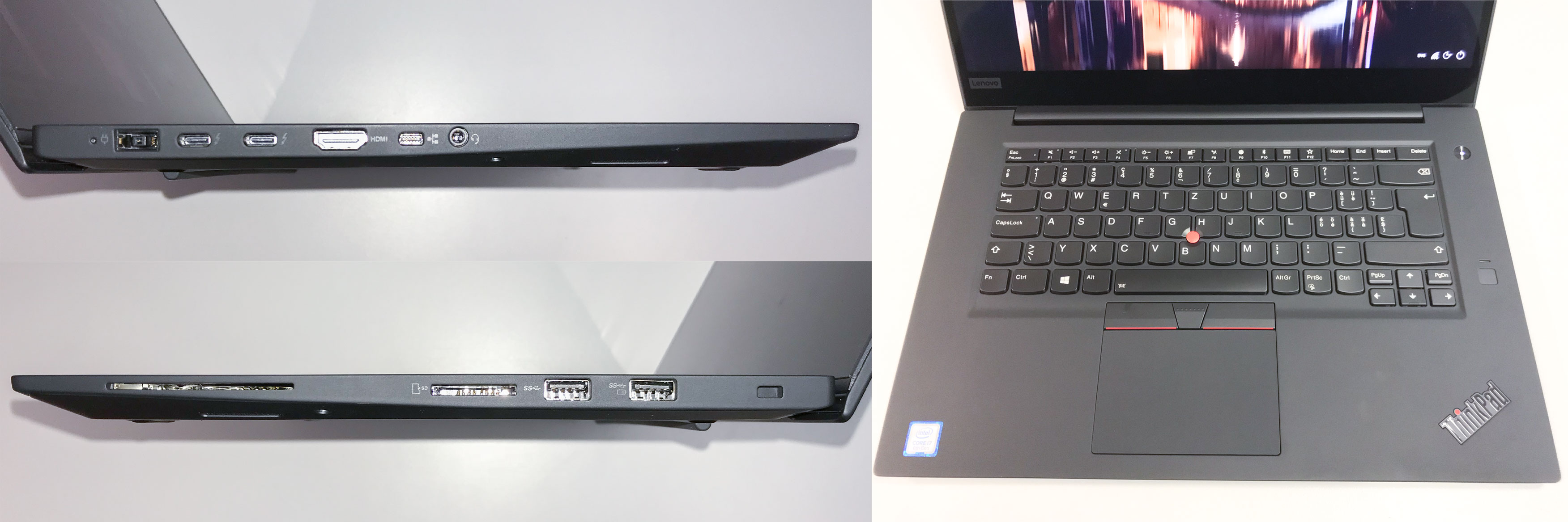 Testing the Lenovo ThinkPad X1 Extreme and P1 - Projekt Neptun